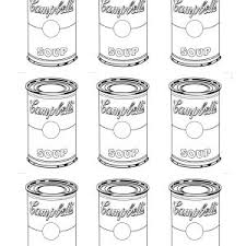 Best Of Andy Warhol Coloring Pages Thelmexcom