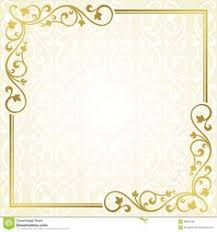 card design ideas soft gold colored invitation cards template no caption blank free