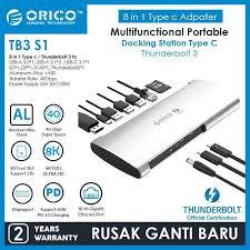Jual <b>ORICO</b> Thunderbolt 3 Aluminum Alloy Docking Station - TB3 ...