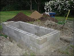build raised garden bed on concrete how to build a concrete block raised bed garden