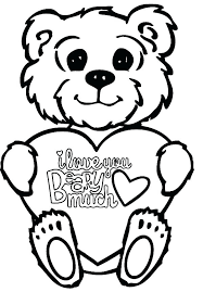 love you coloring pages smiling little bear i love you coloring pages printable puppy love coloring