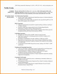 14 Awesome Law Enforcement Resume Template Resume Sample Resume