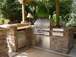 Landscaping Ideas For Small Backyard Kitchen  The Garden InspirationsBackyard Kitchen