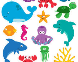 cute sea animals clipart. Wonderful Animals Inside Cute Sea Animals Clipart I