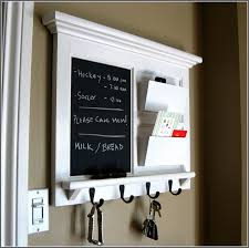 Chalkboard Organizer Key Holder