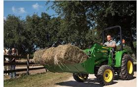 need a way to carry hay around the farm a compact tractor at falls farm garden