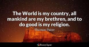 Common Sense Thomas Paine Quotes New Thomas Paine Quotes BrainyQuote