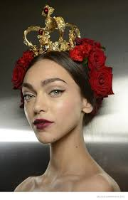 another look at dolce gabbana s spanish sicilian beauty for spring