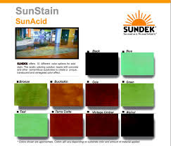 Available Acid Stain Colors In San Diego Ca 619 443 2318