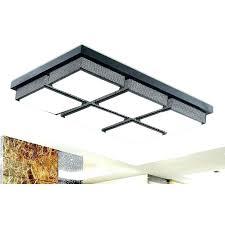 kitchen ceiling light led flush mount kitchen light affordable rectangular acrylic shade inch long led kitchen