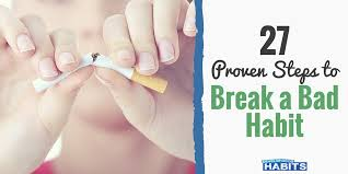 how to break bad habits steps to make quitting easy