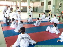 image titled find a good martial arts instructor step 3 martial arts instructor jobs