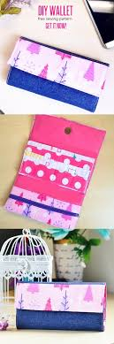 Free Wallet Patterns Fascinating Super Simple Handmade Wallet Tutorial WITH Free Sewing Pattern Sew