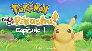2 jugadores en Pokemon let's go pikachu cap. 2 - YouTube