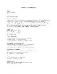 cover letter sample format student resume cover letter knockout sample student resume template college student example template for student resume
