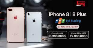 iPhone 8 | 8 Plus chính hãng giá 19.99 triệu tại Huymobile do FPT Trading  phân phối