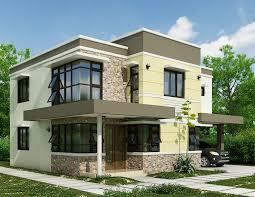 small modern house plans one floor