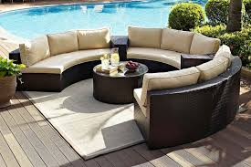 metal patio furniture for sale. DEL MAR Curved Wicker Sectional Sofa By Patio Renaissance Outdoor Furniture Metal For Sale I