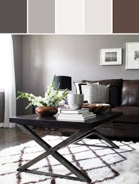 great what color curtain go with grey wall and brown furniture modern rustic living room designed