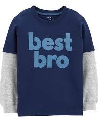 Best Bro Layered Look Tee