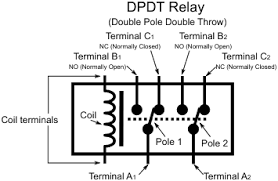 learn digilentinc relay controlled leds dpdt double pole double throw relay