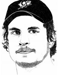 Small Picture Sidney Crosby Drawings MY FIRST DRAWING OF OUR CAPTAIN