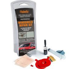 car window windshield scratch re polishing repair tool kit w uv light