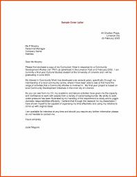 Good Cover Letter Program Format