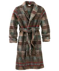 Ladies Jarsi Design Womens Berber Robe For The Cabin Outdoor Outfit
