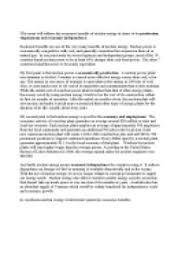 this essay will address the economic benefits of nuclear energy in  page 1 zoom in