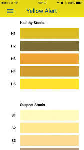 Correct Baby Poop Colours Chart Light Colored Stool Healthy