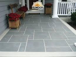 front porch tile ideas porch flooring