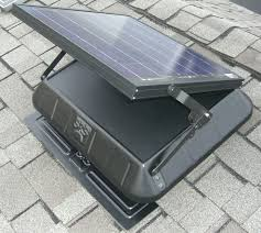 Solar Ventialtion By Energy Attic Dallas Plano Texas - Bathroom venting into attic