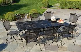 modern patio and furniture medium size metal patio dining table brilliant ilashome inside ege sushi wrought