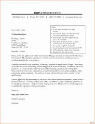 Resume Example Broadcast Project Manager Cover Letter Resume