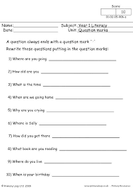 Quotation Marks Worksheets 4th Grade Domiwnetrze Info
