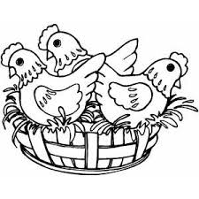 Small Picture French Hens Coloring Page