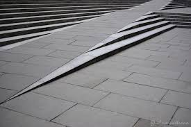 image of wheelchair ramps for stairs concrete