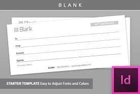 Gift Voucher Format Sample Gift Certificate Template [Blank] Stationery Templates Creative 17