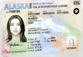 Real Read License Alaska Compliant New Driver's Must Is - Id