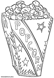 Small Picture Popcorn coloring pages Coloring pages to download and print