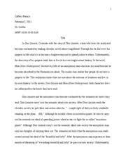 on don quixote essay on don quixote