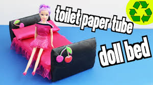 making doll furniture. How To Make A Doll Bed With Toilet Paper Rolls - Super Easy Crafts Simplekidscrafts YouTube Making Furniture