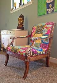 bohemian chic furniture. Boho Chic Furniture   Bohemian One Of A Kind Chair Style Colorful