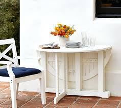 small white round kitchen table painted round drop leaf dining table white pottery barn small white