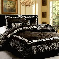 image of comforter sets black