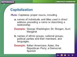 Englishlinx com   Capitalization Worksheets