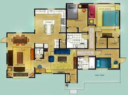 home floor plans color. colored floor plans images home fixtures decoration ideas 14 color with dimensions house n
