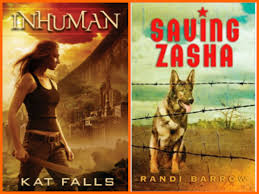 i wrote about inhuman in detail here i am excited about the start of this new series by kat falls saving zasha