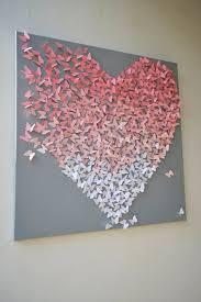 diy girl bedroom wall decor heart wall art ideas diy on heart wall art ideas diy